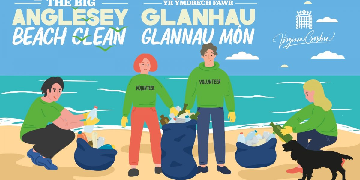 big anglesey beach clean