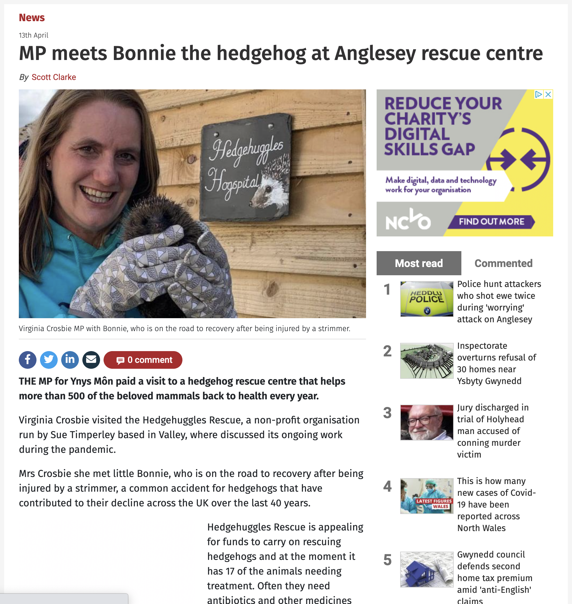 North Wales Chronicle - 13th April 2021